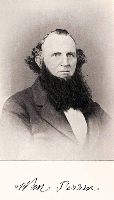 Early historian of Westlake William Henry Perrin