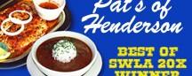 PAT'S OF HENDERSON: 20x BEST OF SWLA WINNER
