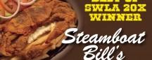 STEAMBOAT BILL'S: 20x BEST OF SWLA WINNER