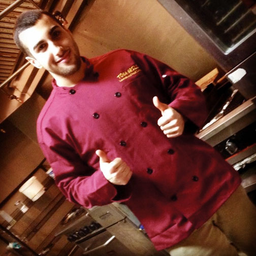 Toga Grill chef Sammi Choun