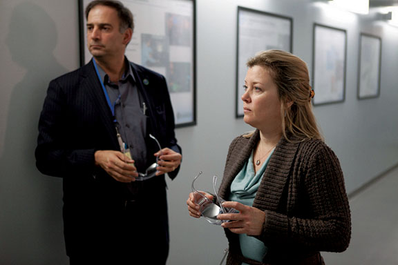Gant and her colleague Julio Friedmann, the Deputy Asst. Sec. for Clean Coal