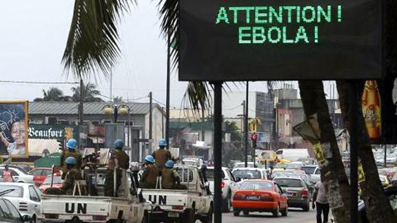 street sign in Guinea