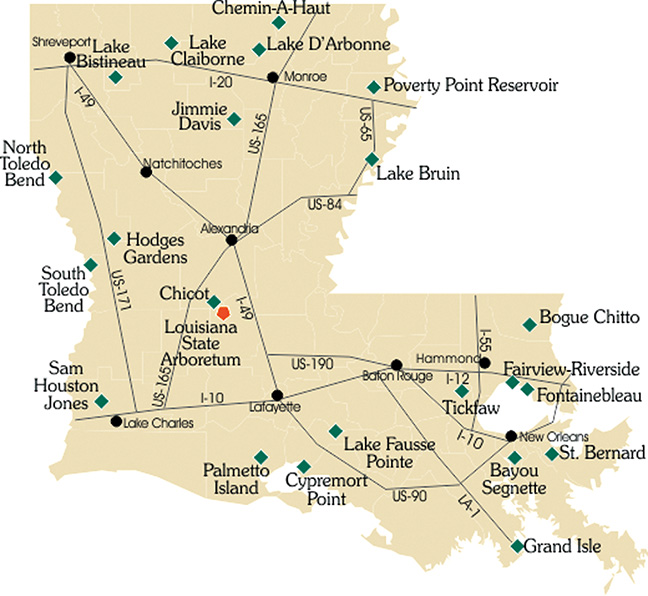 Louisiana State Parks: What's wrong with this picture?