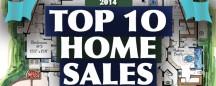 TOP 10 HOME SALES OF 2014