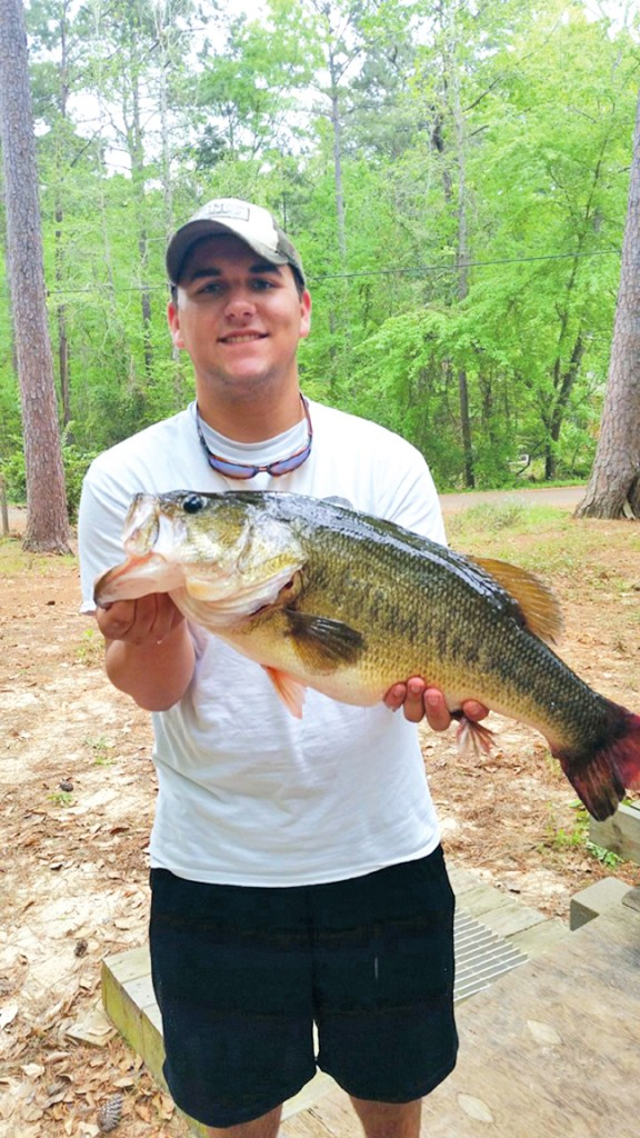 One Cast = One Hawg for Mitchell Smith