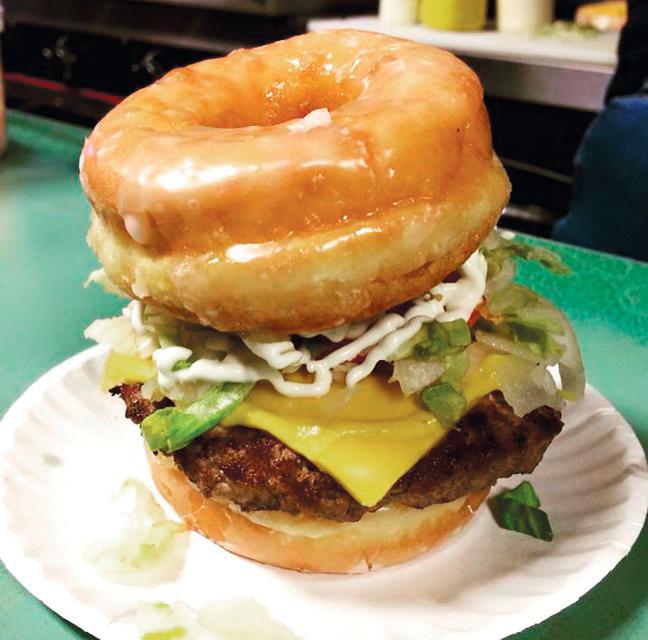 Cotten's Donut Burger