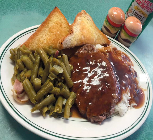 Cotten's plate lunch