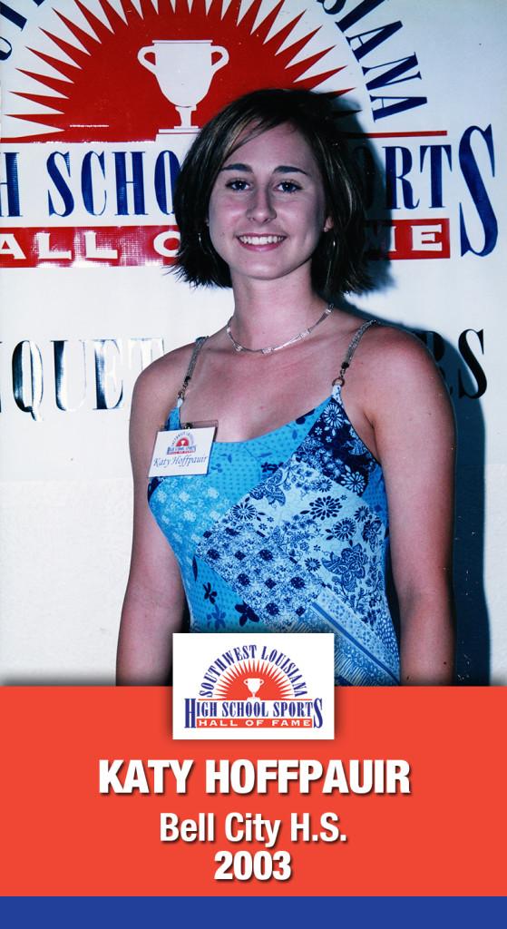 2003 Katy Hoffpauir Bell City HS