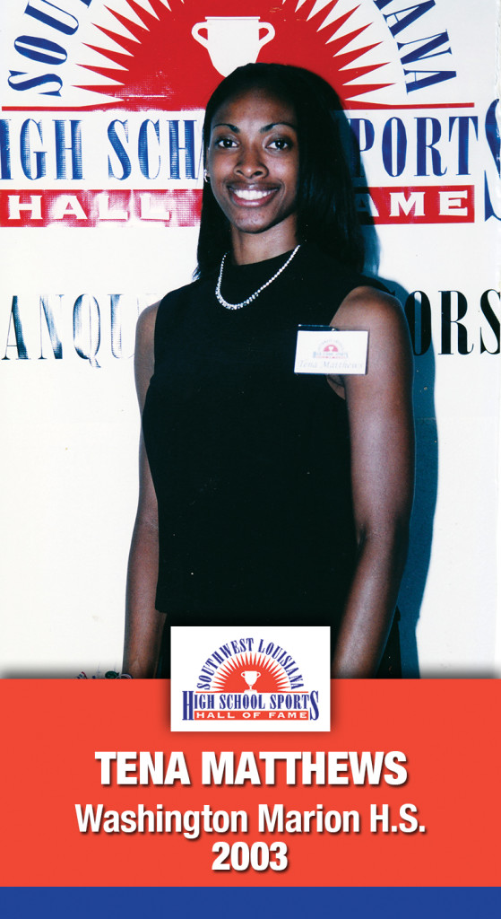 2003 Tena Matthews Washington Marion HS