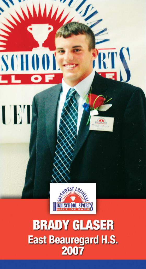 2007 Brady Glaser E Beauregard HS