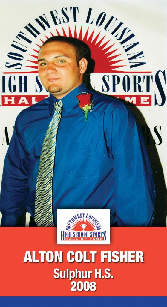 2008 Alton Colt Fisher Sulphur HS