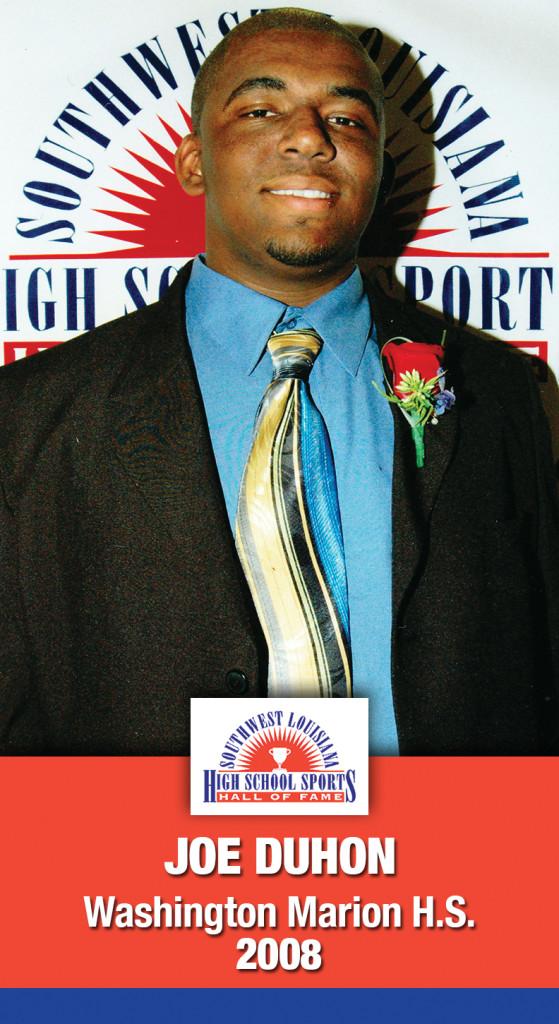 2008 Joe Duhon Washington Marion Magnet HS