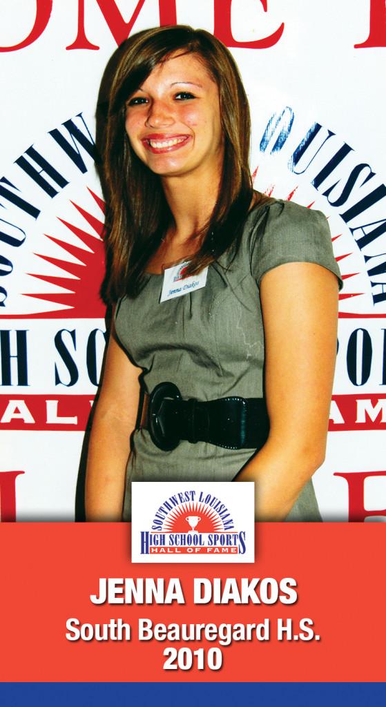 2010 Jenna Diakos S. Beauregard HS