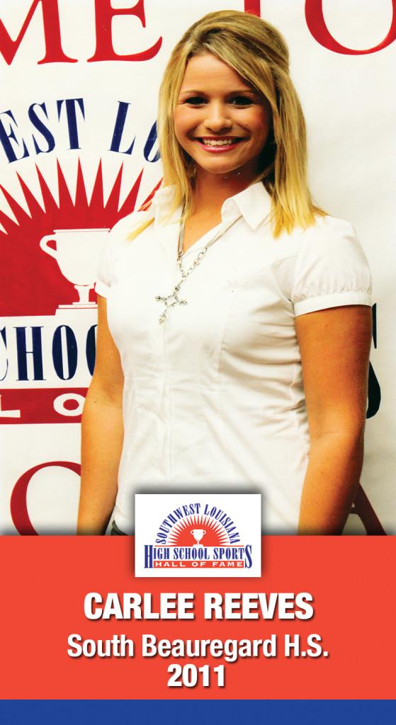 2011 Carlee Reeves E. Beauregard HS
