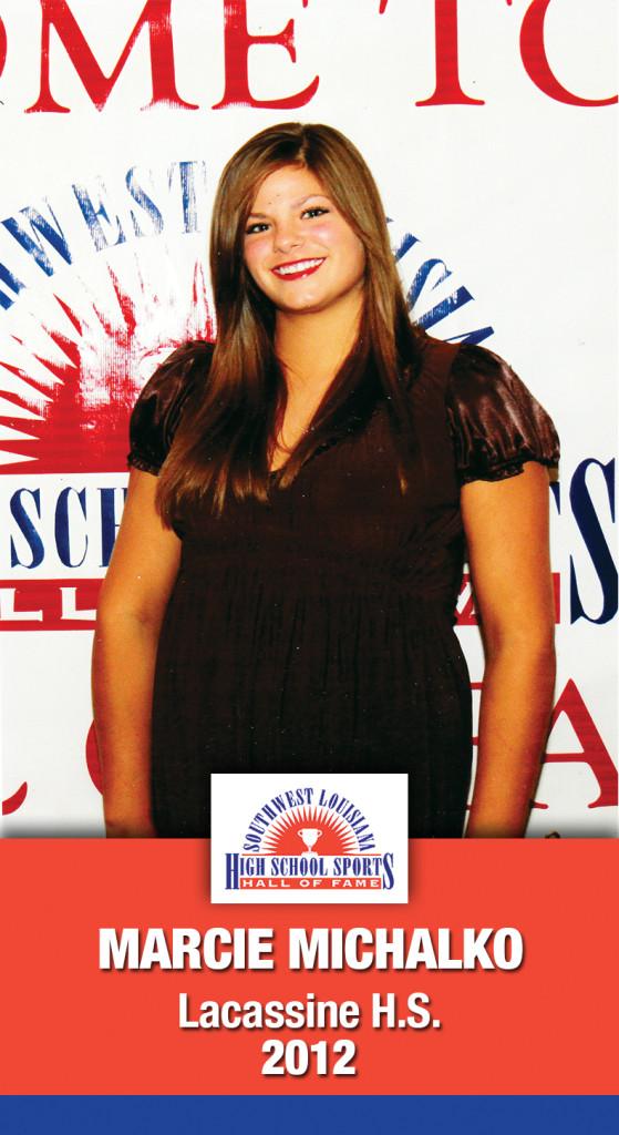 2012 Marcie Michalko Lacassine HS