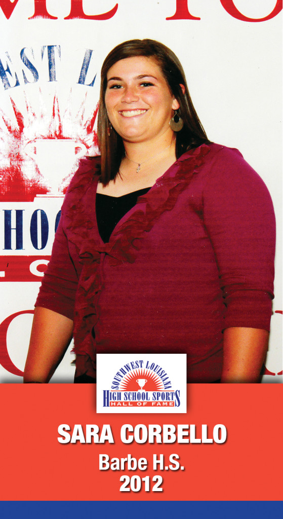 2012 Sara Corbello A.M. Barbe HS