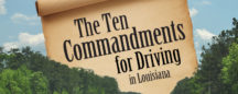 The 10 Commandments For Driving In Louisiana