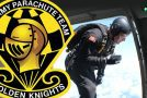 Flying With The Golden Knights